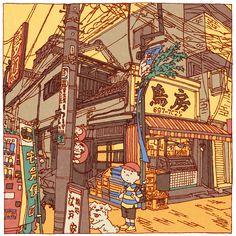 Tokyo 100 views(46〜50) on Behance