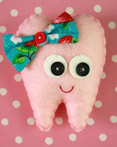 Another cute toothfairy pillow. I guess there is a pocket in the back.