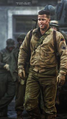 Brad Pitt Hot even when he is dirty