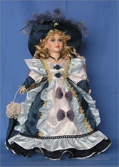porcelain dolls | ... » Toys » Human-Shaped Dolls » Porcelain Dolls Victorian Standing