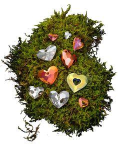 Swarovski Crystal Heart Pendants Designer Edition