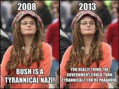 Bad argument hippie
