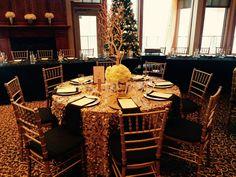 Beautiful Tables Decorations at Blackberry Ridge Golf Club - Sartell, MN.