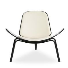 Sillón LOUNGE FABA (SILLONES) - Shell CH07 Sillas de diseño, mesas de diseño, muebles de diseño, Modern Classics, Contemporary Designs...