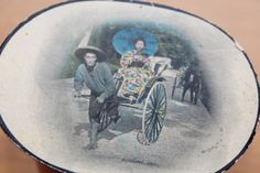 Vintage Antique Japan-British Exhibition 1910 Oval Postcards & Scenes (postmarked) by GillardAndMay on Etsy