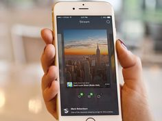 Stream by Ionut Zamfir—The Best iPhone Mockups → store.ramotion.com