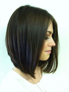Long Bob...growing out my hair for this.