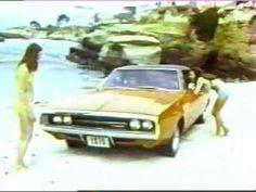 Banned Commercials 1970 Dodge Charger 500 vintage 70's