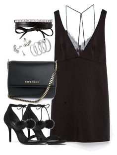 """""""Untitled #2440"""" by theeuropeancloset on Polyvore featuring Zara, Michael Kors, Fallon, Givenchy and Vince Camuto"""