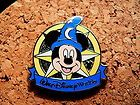 Sorcerer Mickey Disney Pin - 2012 Hidden Mickey Series - Compass Collection #EasyNip