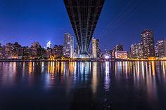 Roosevelt Island facing Manhattan, NYC~