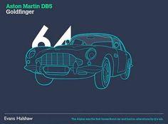 James Bond Cars - Aston Martin DB5 - Goldfinger