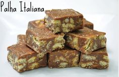 PALHA ITALIANA DA ISAMARA. Éum doce preparado com brigadeiro e biscoito. O preparo é simples, rápido e o resultado é delicioso.