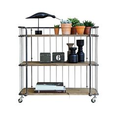 Giro Industrial Trolley Storage With 3 Shelves By Be Pure - Be Pure Home Unique Furniture, Luxury Furniture, Home Furniture, Furniture Design, Apartment Furniture, New Living Room, Home And Living, Vintage Regal, Vintage Stil