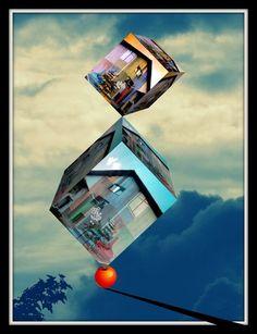 'Balance  Nr. 5' von Gertrude  Scheffler bei artflakes.com als Poster oder Kunstdruck $20.09