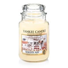 Yankee Candle Bakery Air Large Jar * For more information, visit image link. (This is an affiliate link) Bougie Yankee Candle, Yankee Candle Scents, Yankee Candles, Scented Candles, Candle Jars, New Year's Eve Crafts, House Smell Good, Wall Candle Holders, Home Scents
