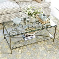 Parrish Coffee Table - traditional - coffee tables - Ballard Designs