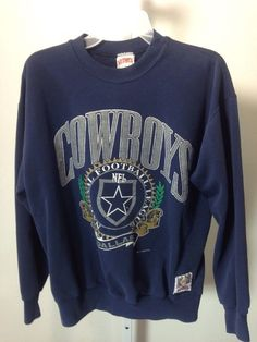 17dcdeace89 Vintage Nutmeg Mills Dallas Cowboys Sweatshirt M #NutmegMills  #DallasCowboys Dallas Cowboys Sweatshirt, Crew