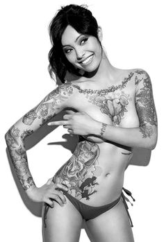 Beautiful Levy Tran So Sexy Great Girl And Awesome Tattoos