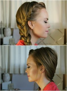 Front French Braids to BunSideswept Mini Dutch BraidMohawk French Braid : Inspired by Kate Bosworth10 Habits of Healthy Hair 8 Easy Hairstyles for Wet HairEasy