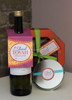 Free Printable Rosh Hashana Gift Tags