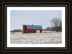 Barn On The Prairie Framed Print By Bonfire #Photography