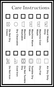 Download this free printable care instructions label to