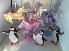Mary Poppins Carousel Horse Decor Hand Cut by TheColorfulPalette