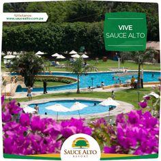 Espectacular vista que nos da Sauce Alto Resort -  http://www.saucealto.com.pe/