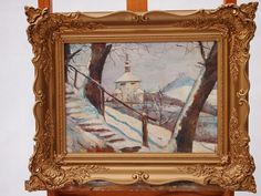 painting 020 - 20th Gallery Retro Furniture, Oil Paintings, Antiques, Gallery, Frame, Home Decor, Art, Antiquities, Picture Frame