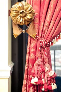 Window Treatment - Details and Tie Back