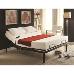 Charmant Shop For The Coaster Hammond Adjustable Bed Base Queen Electric Adjustable  Bed Base At Becku0027s Furniture   Your Sacramento, Rancho Cordova, Roseville,  ...