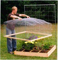 garden ideas Garden Bed Cover