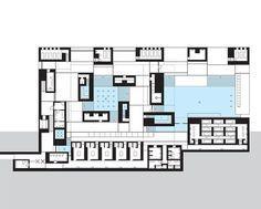 Risultati immagini per peter zumthor drawings swimming pool Classical Architecture, Ancient Architecture, Architecture Plan, Architecture Details, Sustainable Architecture, Peter Zumthor, Thermal Vals, Thermal Hotel, Bodega Hotel