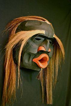 photo of Chief Speaker Mask Calvin Hunt