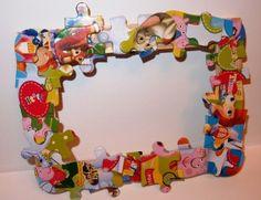 puzzlowa ramka