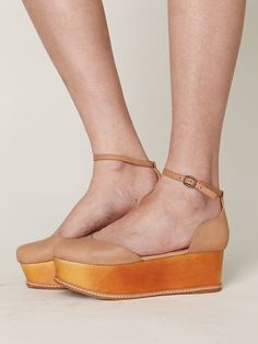 Jeffrey Campbell Shirley Platform at Free People Clothing Boutique