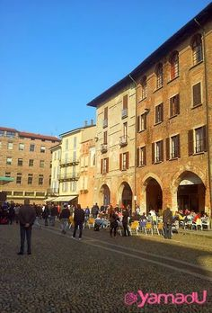 Pavia - Piazza della Vittoria - Yamadu Community - #Yamadu for your vacation rental in Italy :-) https://www.yamadu.it