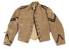 commutation jacket. Louisiana soldiers were certainly fond of trim early in the war.