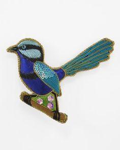 Splendid Fairy-Wren | Caroline Mitchell Wren, Little Things, Colonial, Fairy, Birds, Stitch, Chic, Accessories, Aussies