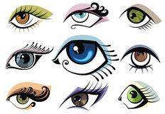 Set Of Cartoon Eyes - Download From Over 62 Million High Quality Stock Photos, Images, Vectors. Sign up for FREE today. Image: 34615652