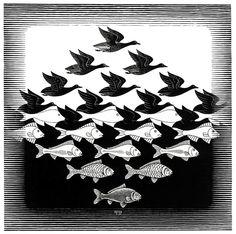 Tessellation (Escher) by candice