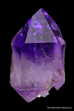 Quartz var. Amethyst - MUN16-26 - Jackson Crossroads - USA Mineral Specimen - #amethyst #Crossroads #Jackson #Mineral #MUN1626 #Quartz #specimen #USA #var