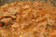 Carne con Chile - Authentic Mexican Chile con Carne.