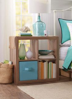 Better Homes and Gardens 4-Cube Organizer  @BHG Live Better (for under thermostat for towels)