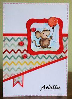 Ardilla's Papers: Mice balloon