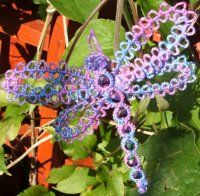 Ring of Tatters - Shirley Hill's pattern - dragonfly