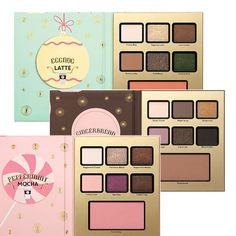 Limited Edition Too Faced Grande Hotel Cafe Collection Palettes
