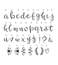Lightbox letter set Script letters- a Little Lovely Company