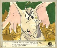 Horton Hears a Who storyboard